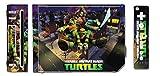 Teenage Mutant Ninja Turtles TMNT Leonardo Michaelangelo Raphael Donatello Splinter Shredder Video Game Vinyl Decal Skin Sticker Cover for the Nintendo Wii System Console