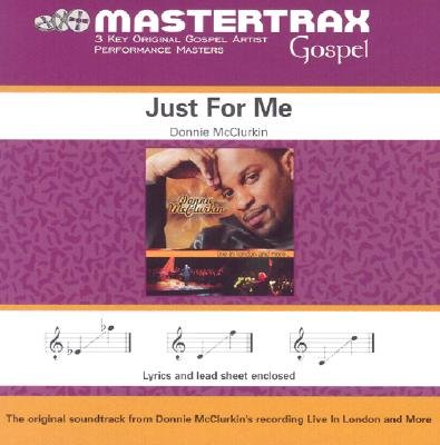 Just for Me [Performance Accompaniment Track] by Provident Music Group