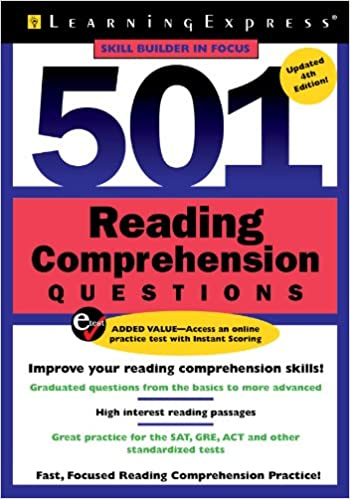 Amazon.com: 501 Reading Comprehension Questions (501 Series ...