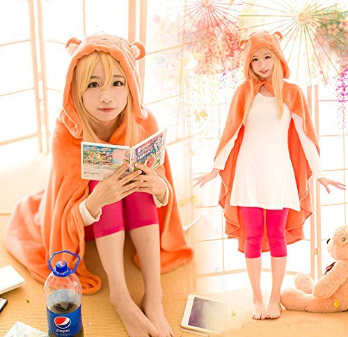 Anime-Himouto-Umaru-chan-Cosplay-Cloak-Hoodies-Flannel-Coat-Daily-Blanket-Quilt-N1