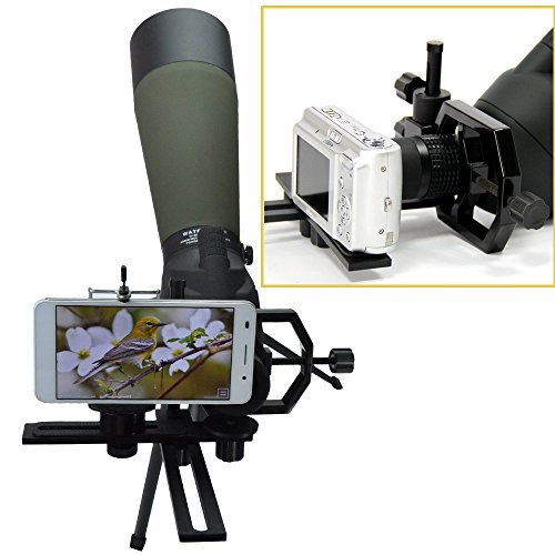 gosky fully metal telescope camera adapter smartphone. Black Bedroom Furniture Sets. Home Design Ideas