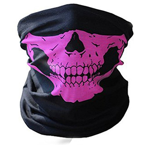 Joymee 4D Full Face Hood Mask Costume Halloween Party Headwear Scary Skull (High Quality Joker Costume)
