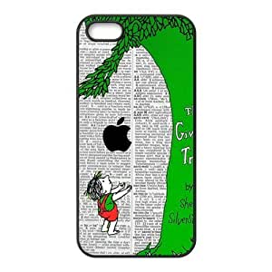 Giving tree Design Solid Rubber Customized Cover Case for iPhone 6 plus (5.5) 5s-linda127