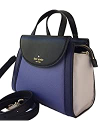 Kate Spade Small Adrien Blue Convertible Satchel Leather Handbag