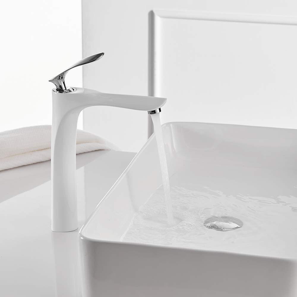 IFELGUD Basin Faucets Bath Water Basin Mixer Tap Bathroom Faucet Hot and Cold Brass Sink Water Crane golden Mixer