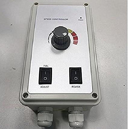 Regolatore di velocit/à 600 Watt Velocit/à Di Controllo Del Regolatore Di Velocit/à Per Ventilatore regolatore di tensione ventilatori Ventilatore 230 Volt Ventilatore