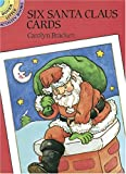 Six Sant Claus Postcards, Carolyn Bracken, 0486275159