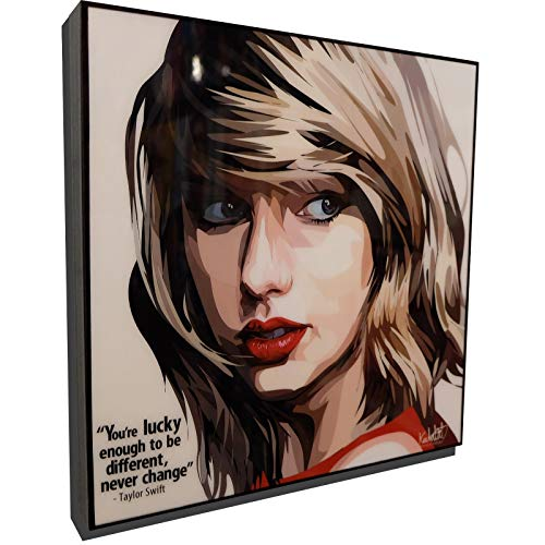 Taylor Swift Poster POP Art Print Canvas Quotes Wall Decals Framed Fan Artwork