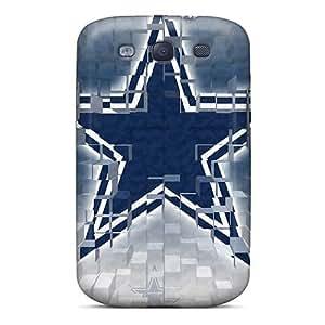 (ZYo821CDem)durable Protection Case Cover For Galaxy S3(dallas Cowboys)