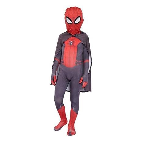 CVFDGETS Traje De Spiderman Man Peter Parker Spiderman ...