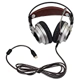 XIBERIA-Gaming-Headset-USB-Surround-Sound-Gaming-Headphones-Over-ear-PC-Headset-with-Microphone-for-PC-Mac-Computer-Laptop-Silver