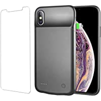Hansmart Ultra Thin Battery Case for iPhone X/XS (Black)