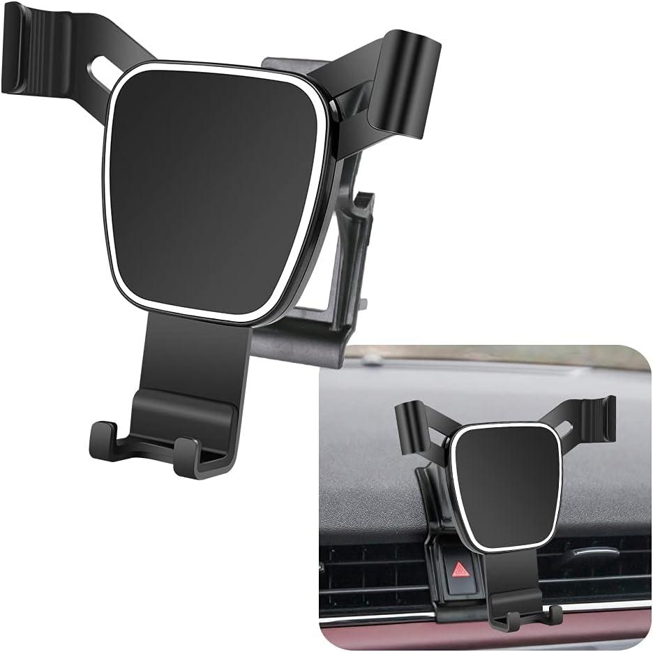 Big Phones with Case Friendly LUNQIN Car Phone Holder for 2020 Land Rover Range Rover Evoque Auto Accessories Navigation Bracket Interior Decoration Mobile Cellphone Mount