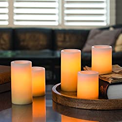 Candle Impressions Ombre Design Pillar Real Wax Fl