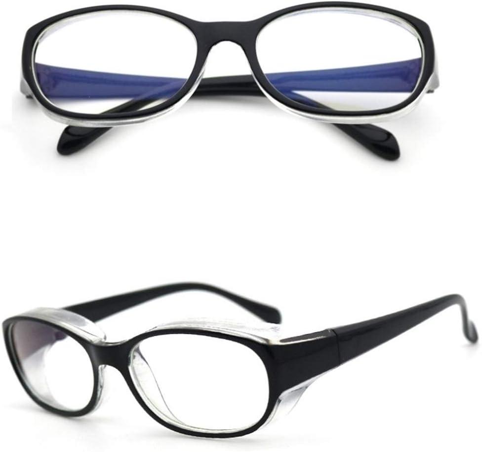 Gafas de seguridad anti-salpicaduras anti polen gafas de protección Gafas Gafas resistente a los impactos anti-salpicaduras vidrios protectores para construcción Laboratorio Química Uso personal