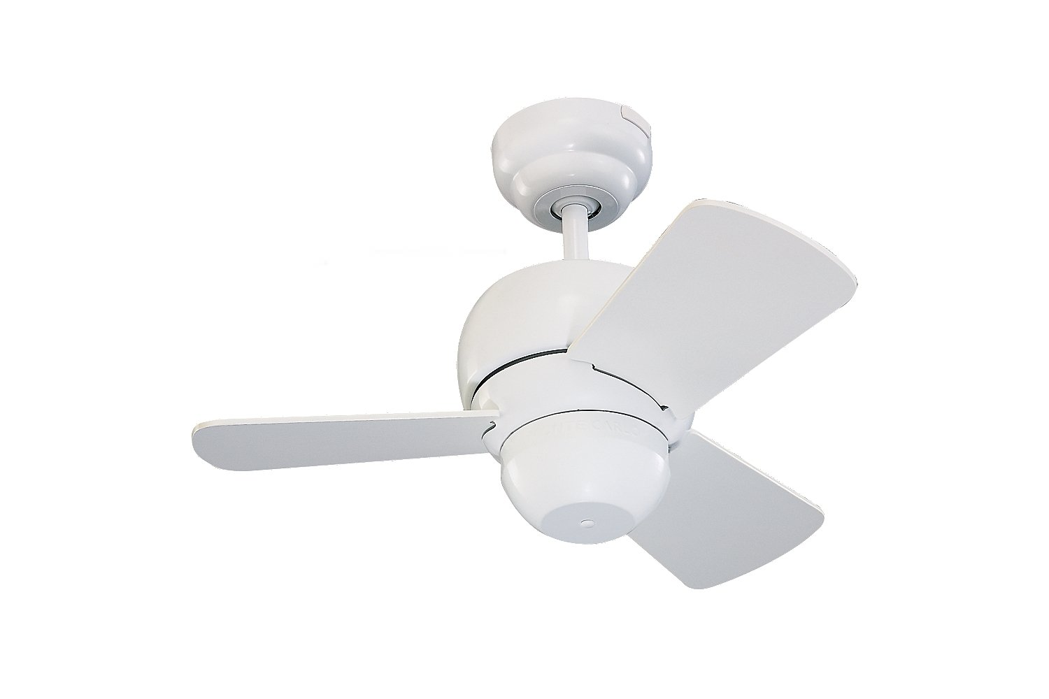 "Monte Carlo 3TF24WH Micro 24 Ceiling Fan 24"" White Outdoor"