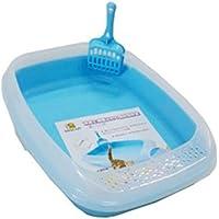 Nutra Pet Cat Toilet Deodorized Cat Litter Box Blue - 46 * 36.6 * 11 cm