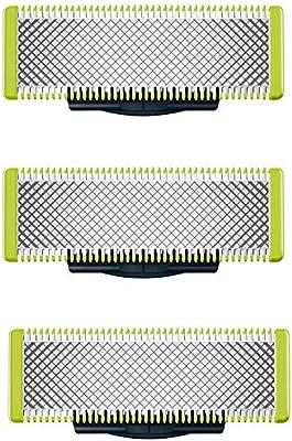 Juego de cuchillas compatibles con Philips Oneblade. Paquete de 3 ...