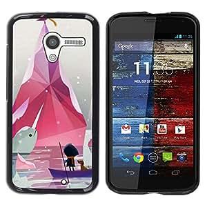 Be Good Phone Accessory // Dura Cáscara cubierta Protectora Caso Carcasa Funda de Protección para Motorola Moto X 1 1st GEN I XT1058 XT1053 XT1052 XT1056 XT1060 XT1055 // Minimalist