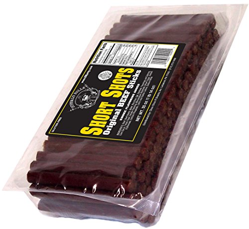 "Buffalo Bills Original Short Shots (120 mild flavored 3.5"" beef sticks per 30oz bag) (3.5 Inch Buffalo)"