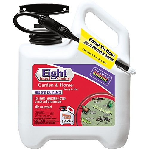 Eight Insect Control - Bonide 4281 RTU Eight Garden and Home Insect Control, 1.33 gallon