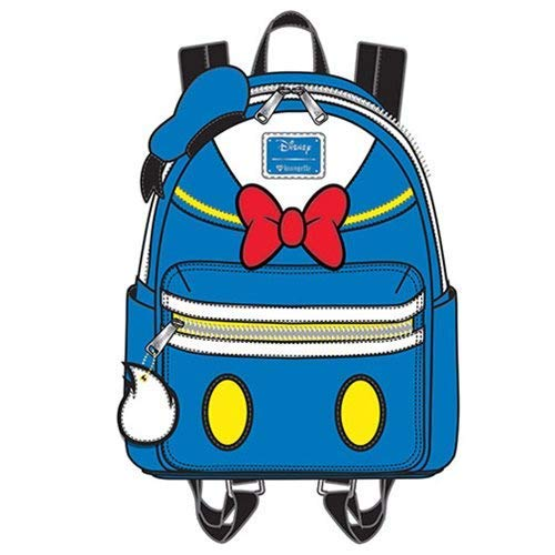 Loungefly Donald Duck Faux Leather Mini Backpack Standard ()