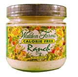 Walden Farms Ranch Dip, Sugar Free, Calorie Free, Carb Free, Fat Free, 12 oz.