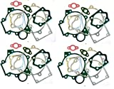 dolphin1986 4 Sets 66cc/80cc Gasket Kits 2 Stroke Gas Motor Engine kit-for Gas Motorized Bicycle 66cc/80cc