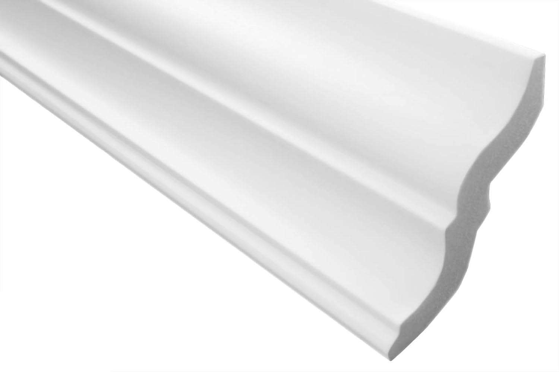 e-10 2 M zierprofil eckleiste polystyr/ène moulures d/écoratives dur 80 x 87 mm