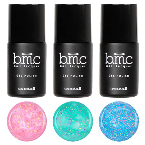 BMC Super Sweet 3pc Serendipity UV/LED Matte Glitter Pastel