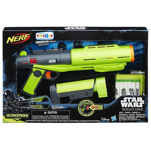 NERF Star Wars Rogue One Imperial Death Trooper Deluxe Blaster - Star Wars Toys Nerf