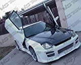 prelude carbon fiber hood - VIS 97-01 Honda Prelude Carbon Fiber Hood INVADER BB8
