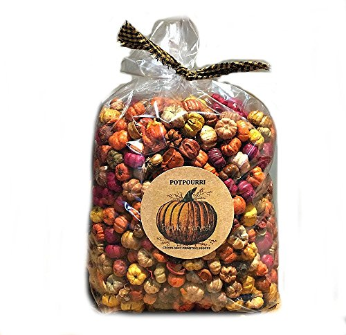 Pumpkin Harvest Potpourri Putka Pods scented Pumpkin Spice Fragrance- Jumbo 9 cup bag labeled with pumpkin tag. Free Shipping!