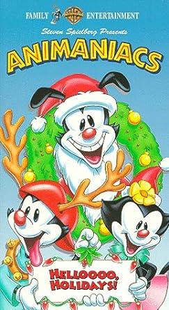 animaniacs helloooo holidays vhs - Animaniacs Christmas
