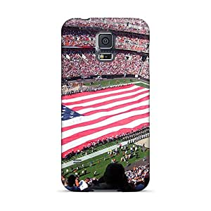 New Cute Funny Cleveland Browns Stadium On Match Case Cover/ Galaxy S5 Case Cover