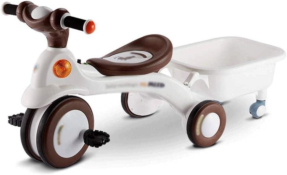 ZQY Bicicleta de los niños del Triciclo Moda al Aire Libre de 1-5 años Los niños Pedal Boy Coche y Muchacha al Aire Libre de Bicicletas Coches Niños Juguetes (Color : B)