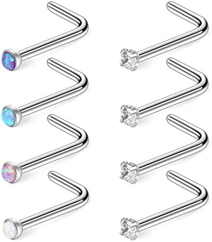 Ruifan Surgical Jeweled L Shaped Piercing product image