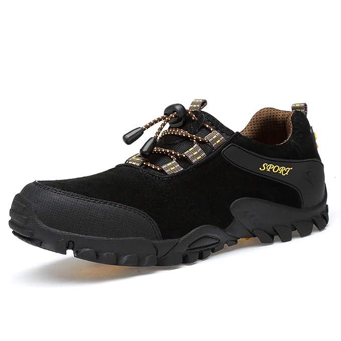 FHTD Calzado para caminar para hombre - Calzado ligero, transpirable, suave, cómodo y flexible. Calzado de gimnasia: Amazon.es: Ropa y accesorios