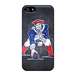 For Iphone 5c Fashion Design New England Patriots 10 Case-mIM827ZSqc