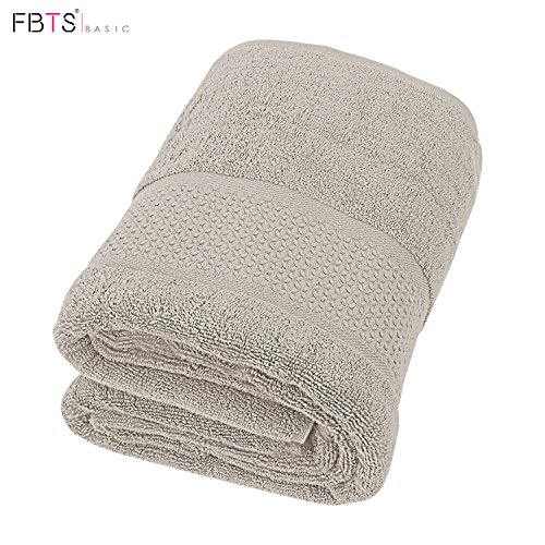 Cotton Bath Towels Sheets for 1 Pack, 31x59 Inches Hotel Bath Sheet Sets, Soft Thick and Absorbency, Easy Care, Professional Grade Spa Towels for Home, Gray