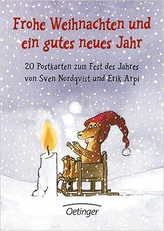 Frohe Weihnachten und ein gutes neues Jahr: 20 Postkarten zum Fest ...