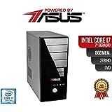 Computador ASUS I7 7Ger 8gb 2Tb DVD