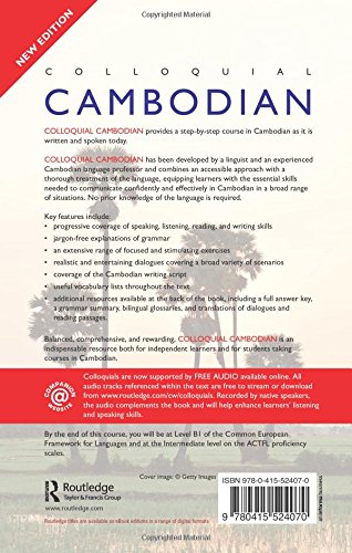 Colloquial Cambodian: The Complete Course for Beginners (New Edition) (Colloquial Series) by Routledge