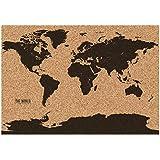 Gift Republic GR560006 Corkboard Map, One Size, Multicolor