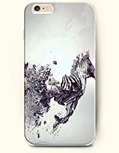 Apple iPhone 6 Case ( 4.7 inches) with Design of A Broken Horse - Art Expression -OOFIT Authentic iPhone Skin by ruishername