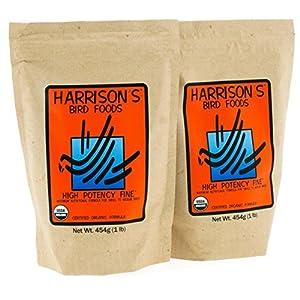 Harrison's Organic High Potency Fine 1lb (454g) - Pack of 2 71