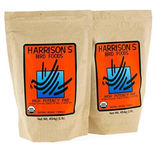 Harrison's Organic High Potency Fine 1lb (454g) - Pack of 2 ()