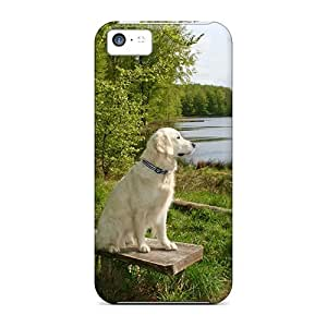 Hot Watching The Lake First Grade Phone Cases For Iphone 5c Cases Covers