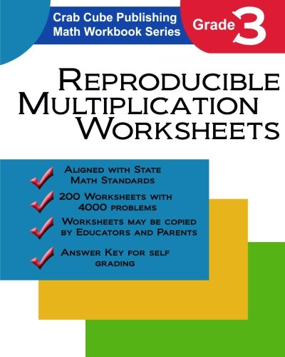 Amazon.com: Reproducible Multiplication Worksheets: Math Workbook ...