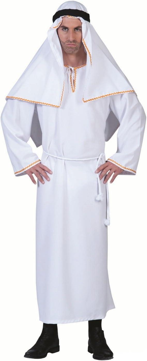 Karabu Traje de jeque Arabe disfraz: Amazon.es: Deportes y aire libre